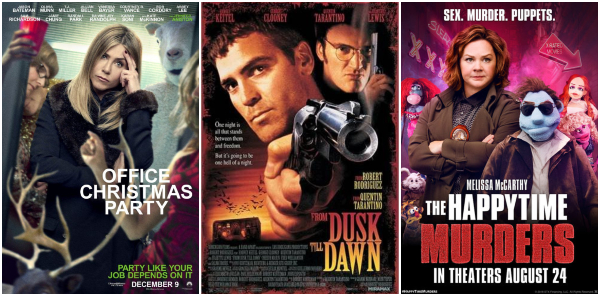 office-christmas-party-dusk-till-dawn-happytime-murders