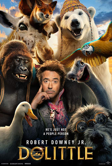dolittle-movie-review-2020-poster