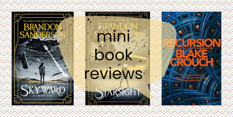 mini-book-reviews-brandon-sanderson-blake-crouch
